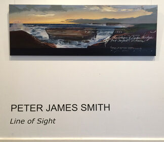 Peter James Smith: Line of Sight, installation view