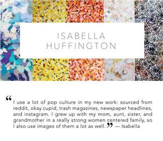 Featured Artist: Isabella Huffington, installation view