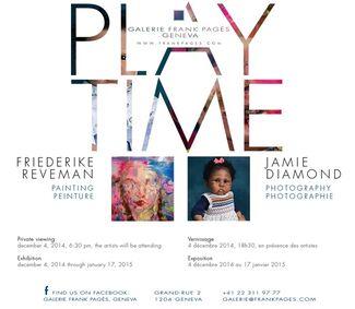 PLAYTIME   Friederike Reveman //  Jamie Diamond, installation view