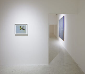 """ARRIVING AT REALITY: Robert Motherwell's """"Open Paintings"""" and Related Collages, installation view"""