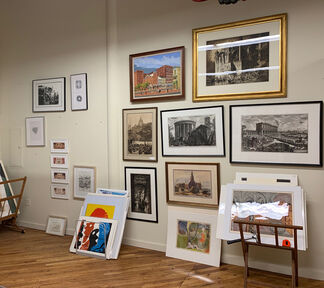 Edward T. Pollack Fine Arts at IFPDA Fine Art Print Fair Online Fall 2020, installation view