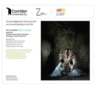 Corridor Contemporary at Art15 London, installation view