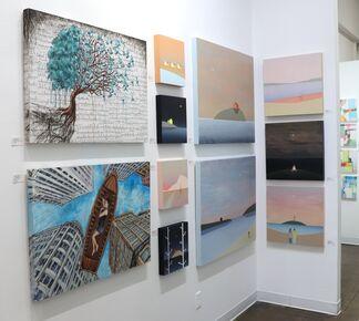 Decoding the Horizon at Artspace Warehouse, installation view