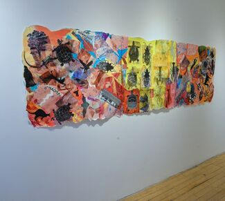 Cari Rosmarin:  On the Wall, installation view