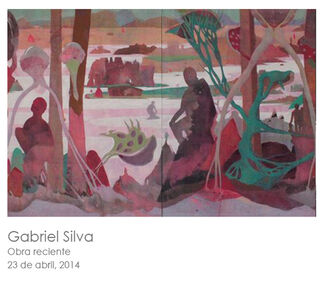 Gabriel Silva: Obra Reciente, installation view