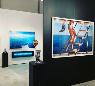 Oliver Cole Gallery at Art Wynwood 2019, installation view