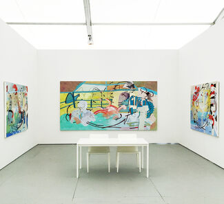 Johannes Vogt Gallery at UNTITLED 2015, installation view