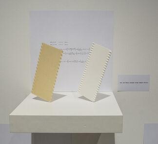 SERKAN ÖZKAYA and GEORGE L. LEGENDRE: One and Three Pasta, installation view