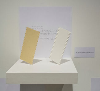 One and Three Pasta, installation view