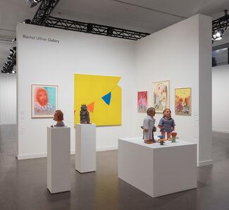 Rachel Uffner Gallery at Independent 2019, installation view