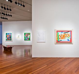 Stuart Davis: In Full Swing, installation view