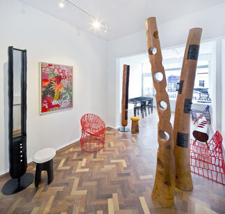 Cheick Diallo and Jean Servais Somian: The Space Between, installation view