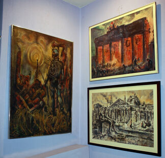 Before, During After: Paintings by Robert Noel Blair, installation view