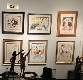Fine Art Acquisitions at Red Dot Art Fair Miami 2013, installation view