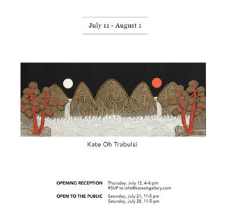 July Three person show - Liaison, installation view