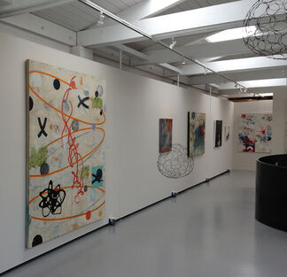Contemporary Lyrical Abstraction, installation view
