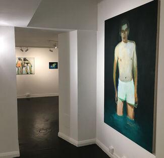 Jonathan Wateridge - This Side of Paradise, installation view