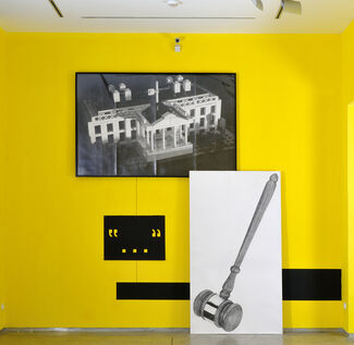 Karl Haendel | People Who Don't Know They're Dead, installation view