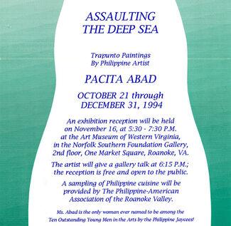 PACITA ABAD: Assaulting the Deep Sea, installation view