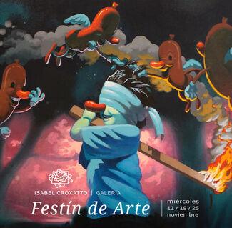 FESTIN DE ARTE at Isabel Croxatto Galería, installation view