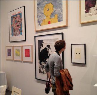 Wingate Studio at Baltimore Contemporary Print Fair 2015, installation view