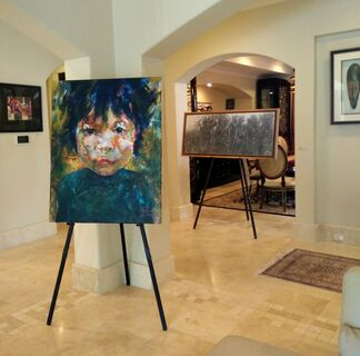Portraits of Light, installation view