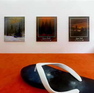 Friedrich Kunath: The Forest Smelled Like Bananas, installation view