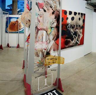 Hopscotch | Visual Artists Marsha Nouritza Odabashian and Jennifer Jean Okumura together with Poets Nancy Agabian and Celeste Nazeli Snowber, installation view
