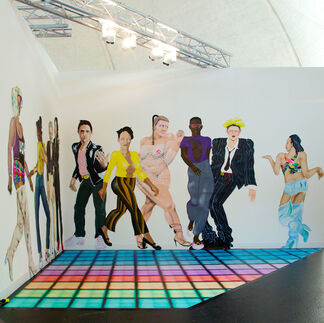 The Hole at VOLTA13, installation view