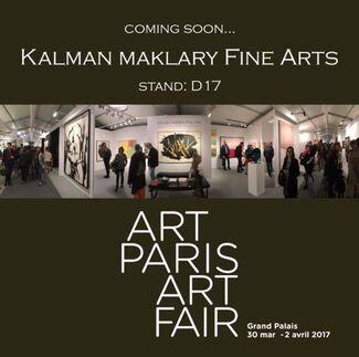 Kalman Maklary Fine Arts at Art Paris 2017, installation view
