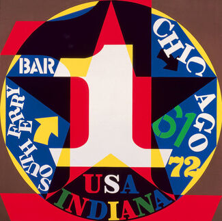 Robert Indiana: Beyond LOVE at the Whitney Museum of American Art, installation view