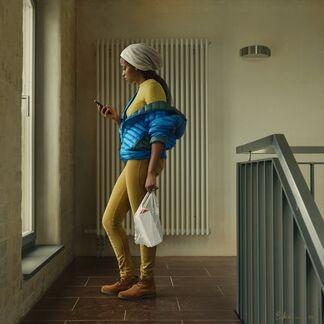 Galerie Lilja Zakirova at ART The Hague 2017, installation view