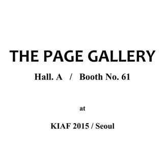 The Page Gallery at KIAF 2015, installation view