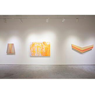 Trifecta: Jen Pack, Ken Tate and Brenda Zappitell, installation view