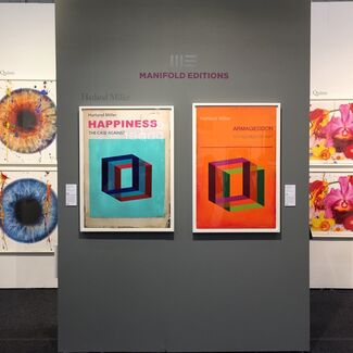 Manifold Editions at Art on Paper New York 2019, installation view