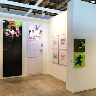 Marina Gisich Gallery at Cosmoscow 2014, installation view