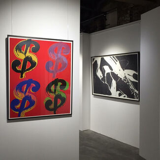Exclusively Warhol, installation view