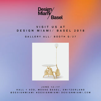 Gallery ALL at Design Miami/ Basel 2018, installation view
