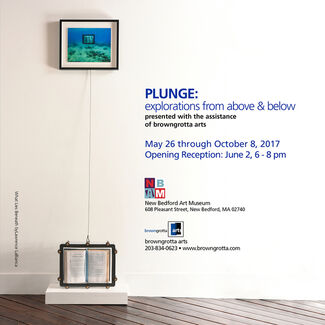 PLUNGE:  explorations from above & below, installation view