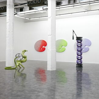 Antenna Space at ART021 Shanghai Contemporary Art Fair 2015, installation view