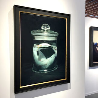 Group Exhibition Featuring The Works of Miguel Angel Moya, installation view