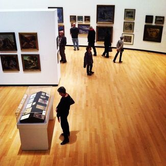 Alexander O. Levy: Art Deco Painter, installation view