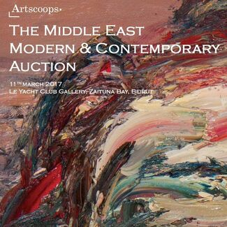 The Middle East Modern & Contemporary Auction, installation view