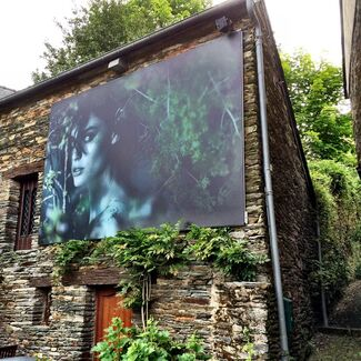 NOMAD TWO WORLDS (Festival Photo La Gacilly, La Gacilly, France), installation view