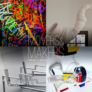 Makers and Movers, installation view