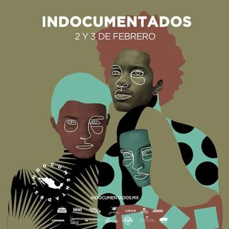 Indocumentados, installation view