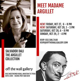 Off the Wall Gallery Presents: SALVADOR DALI: THE ARGILLET COLLECTION, installation view