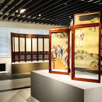 Great Minds Think Alike: 18th Century French and Chinese Furniture Design, installation view