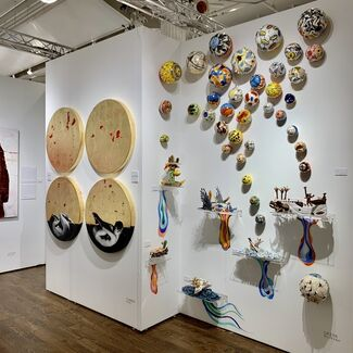 JCamejo Art at Affordable Art Fair New York Spring 2019, installation view