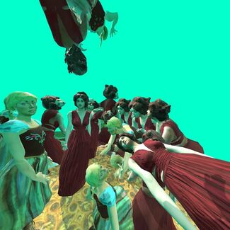 CC LAB Virtual Reality, installation view